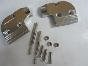 D-SUB Metal Cover 9p with Right Angle Version, with Long Thumb Screws pictures & photos