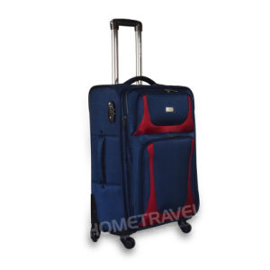 2017 Durable Jacquard Fabric Luggage Set pictures & photos