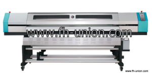 2.5m Eco-Solvent Printer Ud-2512la (1440dpi, 4 colors)