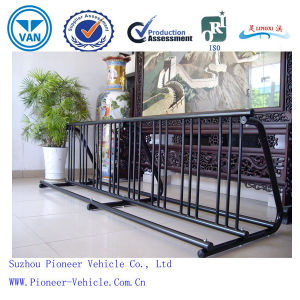 Hot Sale Outdoor Metal Bicycle Stand Grid Bike Stand pictures & photos