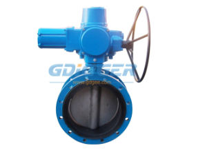 Electric Butterfly Valve (worm gear) pictures & photos