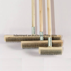 Zinc-Coated Steel Wire Brush pictures & photos