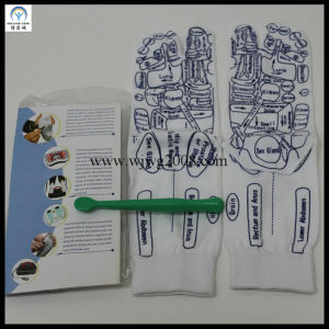 Graphic Sock Acupuncture Massage Socks pictures & photos