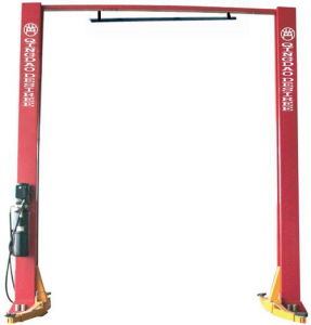 4.2t Two Post Clear Floor Hydraulic Lift with Ce/ISO9001