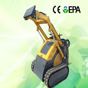 Good Supplier Mini Skid Steer Loader with Diesel Engine pictures & photos