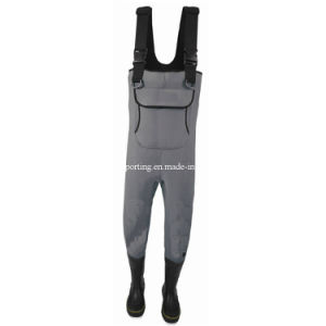 Waterproof High Chest Fishing Wader (HX-FW0017) pictures & photos