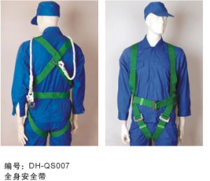 Falling Protection Safety Harness with Hook QS007 pictures & photos