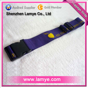 Polyester Luggage Belt With Silk Screen Printing (Lam-LA-83)