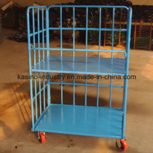 Foldable Warehouse Shelf, Storage Cage, Roll Pallet, Logistic Trolley, Roll Container (High quality) pictures & photos