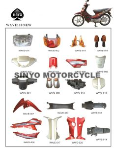 Hot Sell Wave 110 Motorcycle Body Parts for Honda pictures & photos