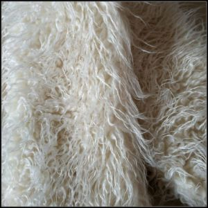 Long Pile Fake Fur for Collar pictures & photos