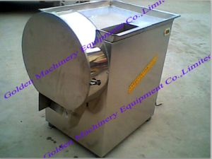 Vegetable Garlic Shallot Ginger Slicing Cutting Chopping Shredding Machine pictures & photos