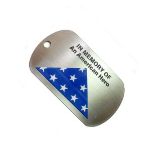 Stainless Steel Military Dog Tag pictures & photos