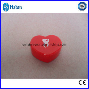 Heart Type Denture Box for Dental Use pictures & photos