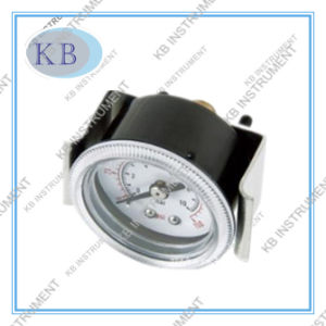 63mm Back Connection Cammon Pressure Gauge with U Clamp pictures & photos