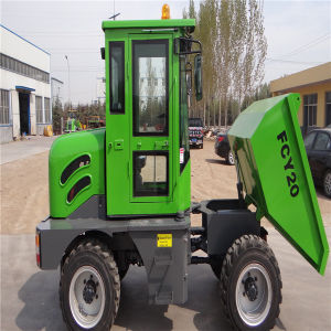 4WD 2.0ton Mini Site Dumper pictures & photos