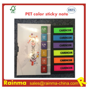 Pet Color Sticky Note for Office Stationery Supply pictures & photos