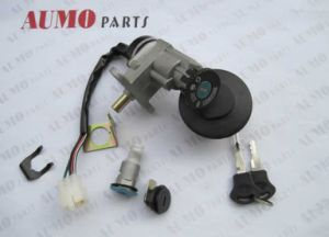 Motorcycle Main Switch Lock Set for Baotian Bt49qt-12 pictures & photos