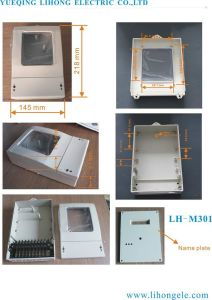 Three Phase Electricity Meter Case, Power Meter Box (LH-M301) pictures & photos