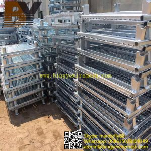 Wire Mesh Container Roll Container Storage Box pictures & photos
