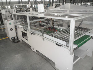 High Speed Paper Bag Folding Gluing Machine pictures & photos