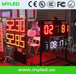 Volleyball Score Board, Basketball LED Score Board, Tennis LED Score Board pictures & photos
