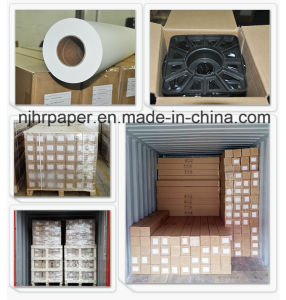63′′ High Speed Printing 45/50/80/100GSM Sublimation Transfer Paper Roll for Textile pictures & photos