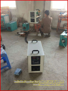 Hf-15 Small Induction Smelter/Stove/Furnace for Gold/Platinum/Rhodium/Silver/Alloy Melting/Heat Holding. pictures & photos