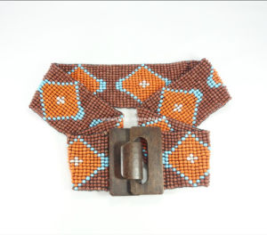 Generous Beaded Lady Waistband for Fashion Accessories
