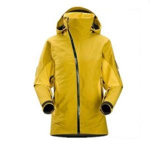 Ladies′ Windproof Waterproof Ski Jacket with Engineered Zipper pictures & photos
