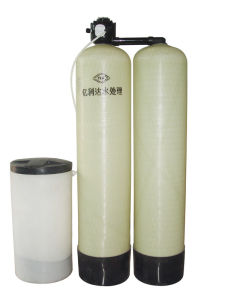 FRP Resin Tank One Work One Standby Water Softener pictures & photos