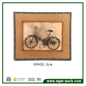Top Sell Countryside Style Bike Metal Painting pictures & photos