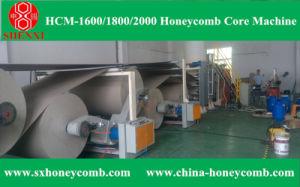 Hcm-1600 Honeycomb Core Making Machine Line pictures & photos