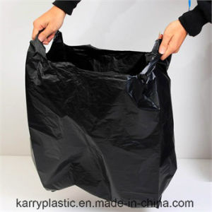 Black HDPE Heavy Duty Garbage Bags pictures & photos