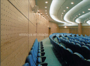 Building Materials Wooden Holes / Stripe Panel Acoustic Wall Panel pictures & photos