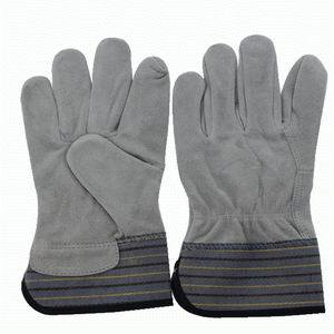 10.5inch Cow Split Leather Gloves pictures & photos