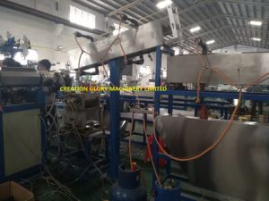 Plastic Extruding Machinery for Nylon Coating Steel Measure Tape pictures & photos