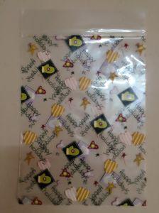 PP Custom Printed Ziplock Plastic Bags for Underwear (FLZ-9211) pictures & photos