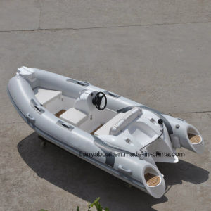 Liya 3.8m Rigid Inflatable Boat for Sale Rib Inflatable Boat pictures & photos