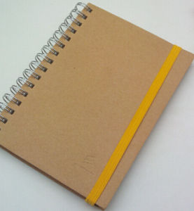 New Style Plastic Cover Spiral Note Book pictures & photos