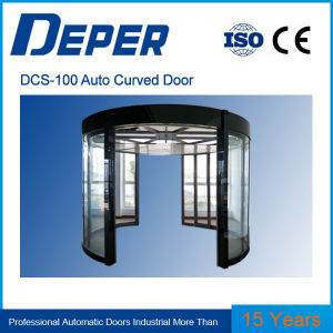 Dcs-100 Cheap Automatic Curved Sliding Door pictures & photos