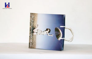 Blue Waterproof Non-Woven Handheld Shopping Bag pictures & photos