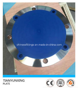 Forging Flat 316ti Stainless Steel 1.4571 Plate Flange pictures & photos