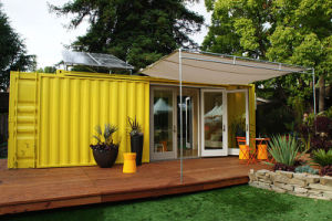 Noble Sandwich Panel Prefab Container House with Kitchen Toilet pictures & photos