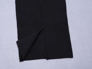 Black Deep V Neck Slim Sleeveless Women Dress pictures & photos