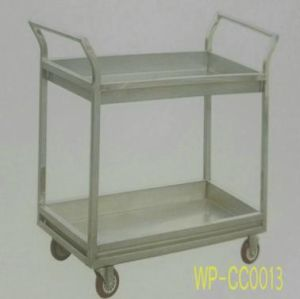 Stainless Steel Food Serving Trollery/ Cart, at Dining Room, Hotel, Restaurant pictures & photos