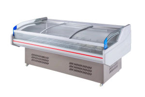 2.5m Chest Showcase Chiller for Commercial Use pictures & photos
