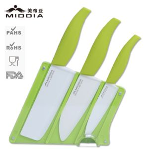 Promotion/Christmas Gift for Mirror Black Ceramic Knives Set pictures & photos