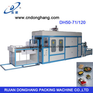 Plastic Food Container Vacuum Forming Machine (DH50-71/120) pictures & photos