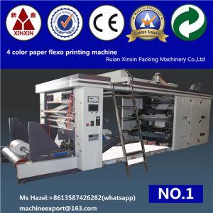 Accuracy Color Registration Auto Flexographic Printing Machine Flexography Printing Machine pictures & photos